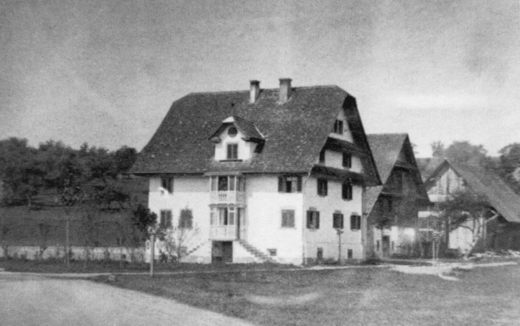 Das «Zythus» Ende des 19. Jahrhunderts.